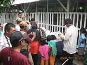 Kunjungan UP FMA Kauman Tulungagung 8 Januari 2011