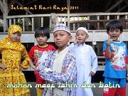 Selamat Hari Raya Idul Fitri 2011