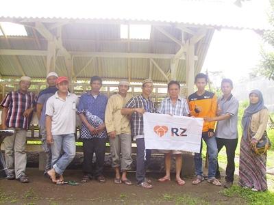 Studi Banding Peternak ke Etawa Jaya Pacu Semangat Peternak Kediri